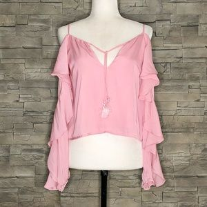Forever 21 pink blouse, NWT